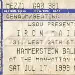 Iron Maiden July 17, 1999